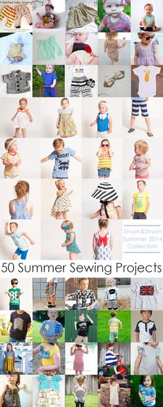 Shwin&Shwin: Summer Collection || +50 Summer Sewing Projects