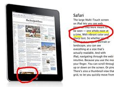 #Apple iPad faux pas    repin .. comment .. share