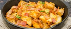 Thai Red Curry, Shrimp, Bacon, Meat, Ethnic Recipes, Food, Essen, Meals, Yemek