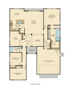 45 Popular Lennar Floorplans Single Story Images New