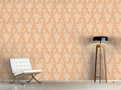 Design #Tapete Paisley Schaum Paisley, Oriental, Curtains, Shower, Prints, Design, Home Decor, Self Adhesive Wallpaper, Wall Papers