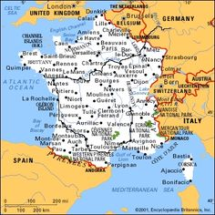 Map Of France South.Map Of South France 2020 Travel In 2019 France Map France