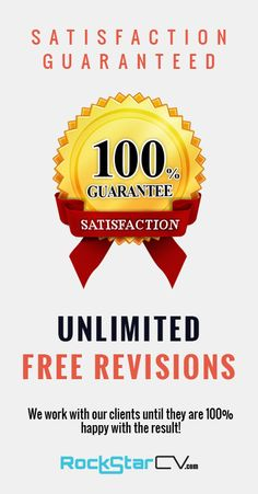 ★ Satisfaction Guaranteed ★ UNLIMITED  FREE revisions ★   We work with our clients until they are 100% happy with the result!   http://rockstarcv.com/  #Resume #Template #Creative Resume Design, #Resume Style, #Resume Design, #Curriculum Vitae, #CV, #Resume Template, #Resumes, #Resume Format, #Modern Resume