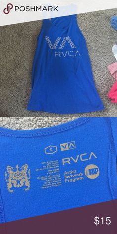 RVCA Tank Top Worn a few times, great condition! RVCA Tops Tank Tops