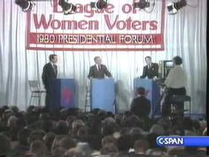 Candidates Reagan & Bush Discuss Illegal Immigration in 1980 Debate - A very different party from today's GOP.