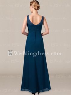 Casual Mother of The Bride Dresses_Teal