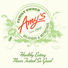 Amy's Kitchen is a family business, named after our daughter Amy, who was born in 1987. We are totally committed to producing truly delicious, easily prepared vegetarian meals made with natural and organic ingredients. Come right in and meet our family and learn about the company and its products.