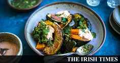 A simple vegetarian meal which needs little preparation but delivers big on flavour Vegetarian Recipes Easy, Veggie Recipes, Vegetarian Meal, A Food, Food And Drink, Squash Varieties, Roasted Squash, Barbecue Recipes, Vegetable Sides
