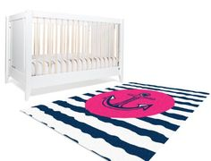 Amazon.com : Nautical Nursery Decor, Pink Nautical Decor, Pink and Navy Nursery Decor, Girls Nursery Decor, Anchor Nursery Decor, Girls Bedroom Decor Gifts : Baby