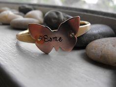 I Fly away child Bracelet   butterfly bracelet by patsdesign, $20.00