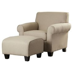 Oldbury Armchair and Ottoman