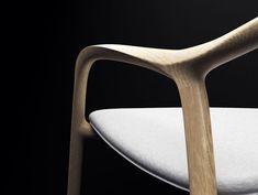 Chaise En Bois Chair by Simon Reynaud