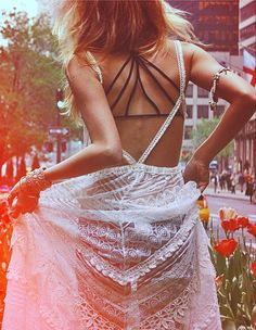summer straps + sheer lace