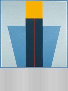 Léon Wuidar, huile sur toile, 100x100cm, 1988