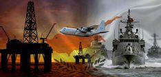 ΘΕΤΙΚΗ ΕΝΕΡΓΕΙΑ:Η μεγάλη σύρραξη θα γίνει όταν η Τουρκία τολμήσει να προχωρήσει σε ναυτικό αποκλεισμό της Κύπρου. Sci Fi, Painting, Science Fiction, Painting Art, Paintings, Drawings