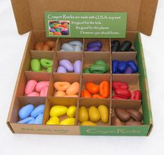 64 Crayon Just Rocks in a Box - 4 Kids Like Me