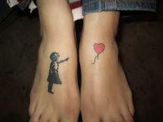 bansky tattoo really want this