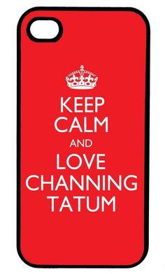 Wordon.com.au - Keep Calm and Love Channing Tatum iPhone 5 Case, $19.95 (http://www.wordon.com.au/products/keep-calm-and-love-channing-tatum-iphone-5-case.html)