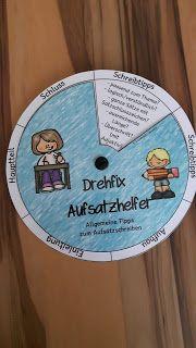 Grundschul-Ideenbox: Drehfix: Aufsatzhelfer