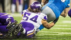 VIKINGS ROOKIE LB ERIC KENDRICKS IS UP FOR ROOKIE OF THE WEEK HONORS FOR THE SECOND WEEK IN A ROW.