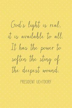Gods light | April 2013 LDS general conference memes | Deseret News
