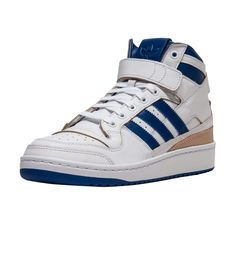 promo code ee5c8 e769b adidas Forum Mid (White) - BY4412   Jimmy Jazz Leather Material, Nike  Sportswear