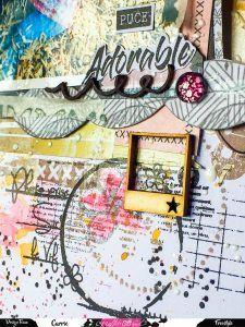 "Page patouille ""La vie est belle "" Graffiti Girl"