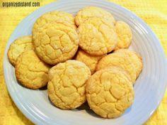 lemon cookies with crinkles