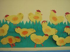Πέντε κίτρινα αυγά φτιάξαν κότα μια χαρά..