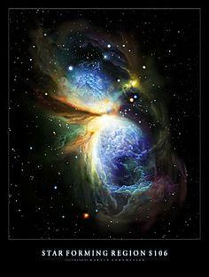 Star Forming Region S106 (artist's impression) ESA/Hubble
