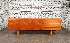 Enfilade Design Scandinave en Teck Vintage 1968 - DesignVintage Avenue -