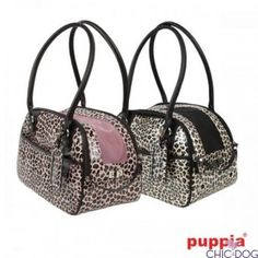 Leopup Carrier - either pink or black lining | rivestimento interno rosa o nero