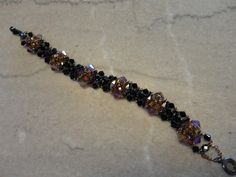Arabesque Bracelet, pattern from Bead & Button Beautiful Bracelets, beaded by Karla Krohn
