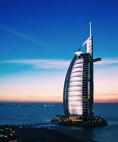 The Burj al Arab in Dubai  might be known as the most luxurious hotel in the world but it's also one of many iconic hotels designed by famous architects like Tom Wright (the artist behind this hotel) Frank Lloyd Wright and Santiago Calatrava. For more legendary structures like this one tap into our Insta Story  via DuJour MAGAZINE OFFICIAL INSTAGRAM - Celebrity  Fashion  Haute Couture  Advertising  Culture  Beauty  Editorial Photography  Magazine Covers  Supermodels  Runway Models