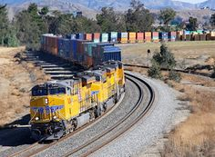 "In January, Union Pacific tested a 3.5-mile long ""monster"" train, using extra locomotives to distribute power efficiently. Just what are monster trains, and how are they different from conventional..."