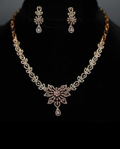 Jewellery Shops Kings Lynn Simple Gold Necklace Set Designs With Price Diamond Necklace Simple, Diamond Pendant, Diamond Jewelry, Gold Necklace, Ruby Jewelry, Circle Necklace, Bridal Necklace, Jewelry Sets, Gold Jewelry
