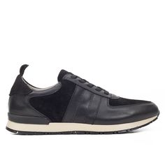 5dae1f0e4ef SNEAKER ELEGANCE - Zapato deportivo de hombre en piel NEGRO. miMaO  ShopOnline