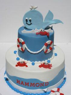 Nautical Cake by Just Call Me Martha