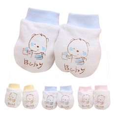 >> Click to Buy << 2 Pairs Cute Cartoon Baby Infant Boys Gitls Anti Scratch Mittens Soft Newborn Gl Knitting material wholesale price baby mittens #Affiliate