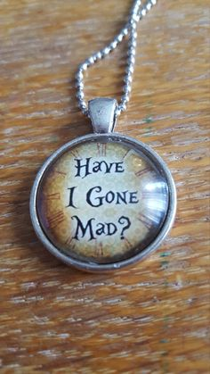 Mad Necklace by AwesomeOddities on Etsy