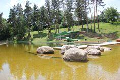 Garden Bridge, Golf Courses, Outdoor Structures, Traveling, Viajes, Trips, Travel