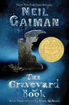 2009 - The Graveyard Book by Neil Gaiman - After the grisly murder of his entire family, a toddler wanders into a graveyard where the ghosts and other supernatural residents agree to raise him as one of their own.