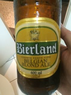 Bierland Belgian Blond Ale, Blumenau, Brasil