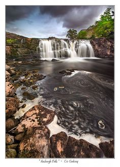 Aasleagh Falls - co. Galway, Ireland