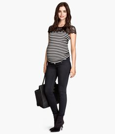 *New* Blackish H&M Mama Maternity Super Skinny Maternity Jeans (Size 4) - Motherhood Closet - Maternity Consignment