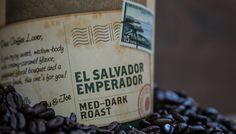 """Sip El Salvador Emperador!ROAST: Medium-Dark FLAVOR: Creamy Caramel, Floral Bouquet, Deep Cocoa Finish. ORIGINS: Central America First cultivated in the early 1800's, this heirloom Bourbon varietal is grown in the Santa Ana prefecture along the Apaneca mountain range. This exquisite cultivar known as the """"Emperor of  Coffees"""" presents sophisticated cup characteristics—medium body, caramelized date, apple-pear flavors,  delicate acidity with lavender aromatics and an unsweetened cocoa finish"""