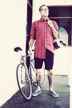 Tattoo Lust: Bikes & Tattoos | Fonda LaShay // Design → more on fondalashay.com/blog