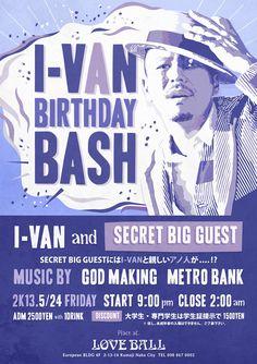 I-VAN BIRTHDAY BASH 2013.5/24 FRI