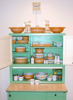 Pyrex collection by applescruff1969, via Flickr