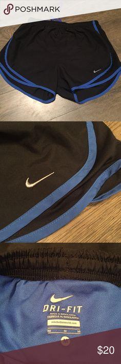 Nike Dri-Fit Tempo Short Blue & black Nike active shorts Nike Shorts